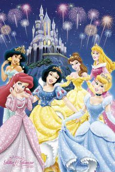 Disney Princesses Poster £5.99 current sale price 2.98 Size: 61x91cm #disney #princesses