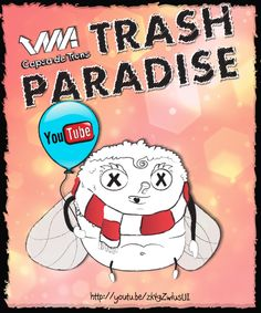 Bye bye London, el 1r capítol de Trash Paradise a Youtube: http://youtu.be/zk4gZwiusUI  #trash #paradise #animation #video