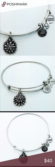 Alex And Ani Water Lily Wrap New with no Tags and no Box ( All Pictures are actual pictures) alex & Ani Jewelry Bracelets