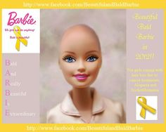 Beautiful Bald Barbie (for girls coping with hair loss due to cancer treatments)