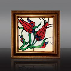 Stained glass image Tulip by Cherrypl on Etsy