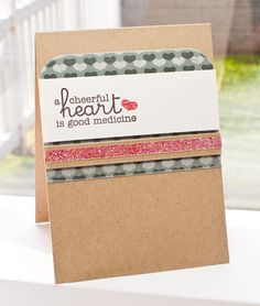 Cheerful Blessings; Hearts & Stitches; Blueprints 3 Die-namics - Lisa Johnson