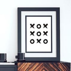 Abstract Tic Tac Toe Modern Art Print Minimalist Black and White Canvas Poster Print Nordic Wall Art For Salon or Home Decor Canvas Poster, Canvas Art Prints, Canvas Wall Art, Poster Prints, Art Posters, Geometric Wall Art, Abstract Wall Art, Art Deco Wall Art, Art Decor