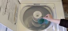Even though your washing machine gets your clothes nice and clean, the machine itself needs some love on occasion. Here's how to clean, PLUS five more hacks!