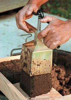 Butterkin squash butterkin pinterest squashes for Soil block maker