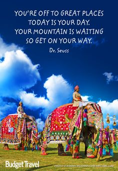 Dr seuss oh the place s you ll go budgettravel travel quote