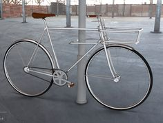 Swedish concept bike integrates lock in front basket | Bicycle... | Shared from http://hikebike.net
