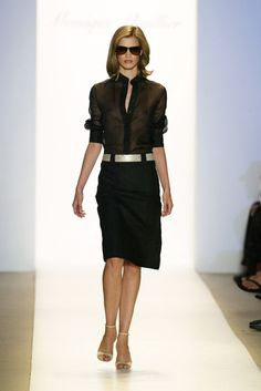 Monique Lhuillier at New York Spring 2005