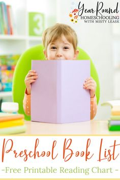 Teach your little learners to love reading from an early age by completing this Preschool Book List with them throughout the year. #PreschoolBookList #PreschoolBooks #Preschool #PreKBookList #PreKBooks #PreK #Literature #Homeschool #Homeschooling #YearRoundHomeschooling Pre-school Books, Reading Charts, Good Night Moon, Little Learners, Classic Literature, Niece And Nephew, Read Aloud, Pre School, Book Lists
