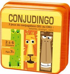 Asmodee - ARIT04 - Enfants - Conjugodingo: Amazon.fr: Jeux et Jouets