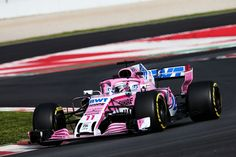 2018 Force India VJM11 - Mercedes (Sergio Pérez)