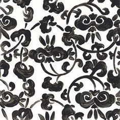 Framed Ink Motif II Print Nature Scenes, World Cultures, White Art, Pattern Art, Wall Hooks, Custom Framing, New Art, Framed Art, Black And Brown