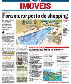 Jornal A Tribuna 23/01/2013 - Caderno de Imóveis.