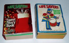 Lifesavers Sweet Story Books : OK so I remember these only would come out Xmas so I could never get them. But I wanted them soooooo bad!!!!