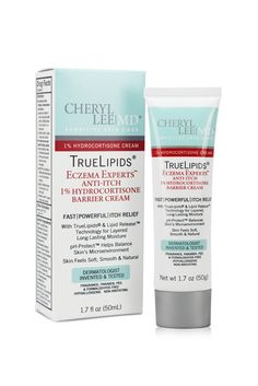 TrueLipids Eczema Experts Anti-Itch Hydrocortisone Barrier Cream – Cheryl Lee MD Sensitive Skin Care – 1 Source by Best Cream For Eczema, Uses For Vicks, Vicks Vaporub Uses, Hydrocortisone Cream, Barrier Cream, Anti Itch Cream, Itch Relief, Eczema Relief, Sensitive Skin Care