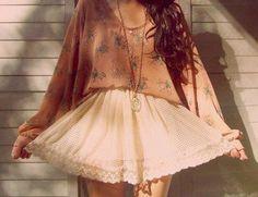 Beautiful! Girly but not too girly. Bohemian chic