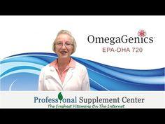 Metagenics OmegaGenics EPA-DHA720 - YouTube