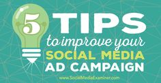 5 Tips to Improve Your Social Media Ad Campaigns http://www.socialmediaexaminer.com/5-tips-to-improve-your-social-media-ad-campaigns/?awt_l=C9jVQ&awt_m=3VCbNJNvGDFyALT http://TomBlubaugh.net/services