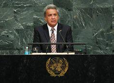 Ecuador rechazó bloqueo contra Cuba y desigualdad ante la ONU