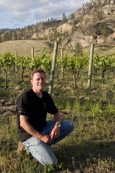 Matt Mavety is the winemaker at Blue Mountain Vineyard and Cellars, a property he shares in the ownership of with family members Ian, Jane and Christie Mavety. Blue Mountain is in Okanagan Falls, British Columbia. Blue Mountain, British Columbia, Vineyard, Cool Stuff, Celebrities, Photography, Travel, Celebs, Viajes