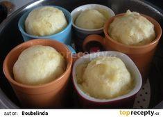 Hrnečkové knedlíky recept - TopRecepty.cz Pavlova, Pudding, Ice Cream, Desserts, Food, No Churn Ice Cream, Tailgate Desserts, Deserts, Icecream Craft
