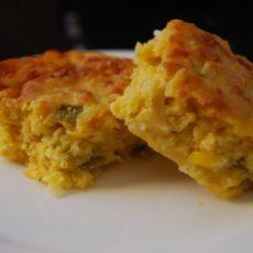 Stuffed mexican cornbread with cheese, jalapeno, & sausage! YUM!