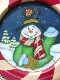 Pintura Navideña Christmas Yard Art, Christmas Rock, Christmas Drawing, Christmas Snowman, Kids Christmas, Christmas Pictures, Christmas Ornaments, Craft Stick Crafts, Christmas Crafts