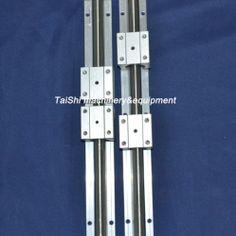 2pcs Linear Bearing Rail SBR16 350mm 4 Blocks for CNC S66 | eBay