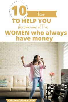 Some things you don't have a lot of - control of - how you grew up, the influences in your life, or difficult circumstances like poor health. But there are at least 10 things I'm going to share with you to help you become one of these women who always have money. #lifehacks #moneymanagement #motivation #teens #thrifty #adrianscrazylife Best Money Saving Tips, Saving Money, Parenting Teens, Parenting Hacks, Debt Snowball Spreadsheet, Show Me The Money, Money Savers, Get Out Of Debt, Crazy Life