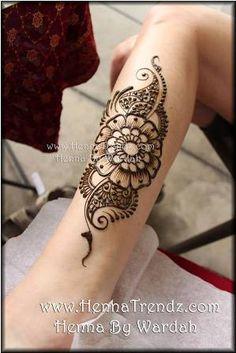 ... Henna flower tattoo designs, henna flower designs ...