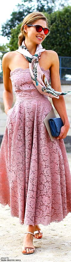Paris Fashion Week S'14 Valentino dress