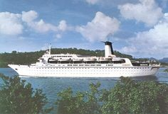 Norwegian Caribbean Skyward cruise ship -  I was on the Skyward ship in June of 1986 with Patti P, Kim, and Shelly (Patti's friend).  Patti & Shelly had just finished nursing school.   We had a blast!  vc