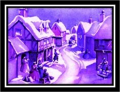 "From ""For The Love of Purple"" Christmas Cover, Purple Christmas, Merry Little Christmas, Christmas Images, Christmas Carol, Xmas, Cover Pics, Cover Picture, Painting For Kids"