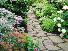 Follow me down the garden path...