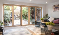 Bi-Folding Aluminium Doors in Leeds, York & Harrogate | Kingfisher Windows