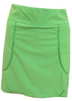 """Coachella (Outta Lime) EP Sport Ladies 17.5"""" Pull On Golf Skort available at #lorisgolfshoppe"""