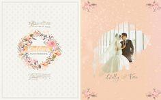 Wedding Day Photobook Design , photo by HOP on Behance