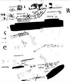 "from FBI ""Daily Worker"" files 1 of 5 (page 5) - as redacted and released."