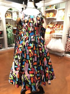 New Monsters Inc. Dress Available at The Dress Shop