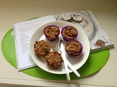 Tips van deVegetariër-redactie: - Deze muffins zijn prima geschikt als tussendoortje of bij het ontbijt. Wil je wat meer een luxe cakesmaak, maak dan het recept voor zoete, verrijkte