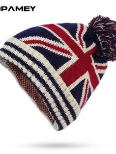 Union Jack beanie