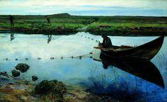 Eilif Peterssen   Eilif Peterssen, Laksefiskere (1889)