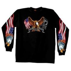Hot Leathers Some Gave All Long Sleeve T-Shirt (Black, Large) http://bikeraa.com/hot-leathers-some-gave-all-long-sleeve-t-shirt-black-large/