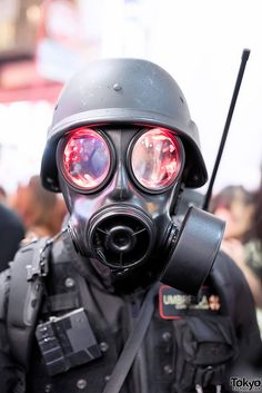 "Umbrella Corporation soldier from ""Resident Evil"""