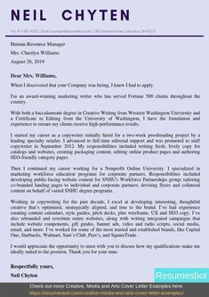 Want to create or improve your Copywriter Cover Letter Example? ⚡ ATS-friendly Bot helps You ⏩ Use free Copywriter Cover Letter Examples ✅ PDF ✅ MS Word ✅ Text Format Cover Letter Layout, Writing A Cover Letter, Cover Letter Example, Letter Sample, Resume Examples, Copywriting, Human Resources, Free Resume, Improve Yourself