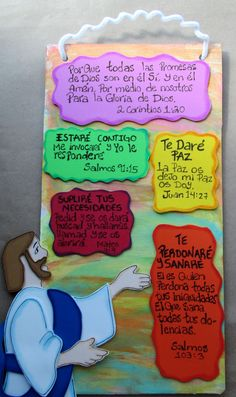 Manualidades cristianas Vbs Crafts, Foam Crafts, Crafts For Kids, Prayer Crafts, Bible Crafts, Acrylic Painting Rocks, Bible Lessons For Kids, Church Activities, Sunday School Crafts