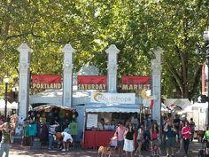Saturday Market - Portland, Oregon