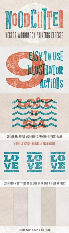 Woodcutter Effect by Sivioco | The Essential, Creative Design Arsenal (1000s of Best-Selling Resources) Bundle Feb 2015