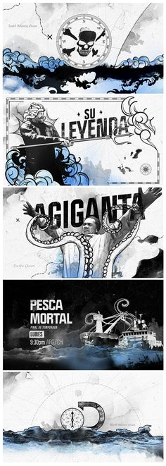 Deadliest catch s13. Credits: Design, illustration and animation: Diego Troiano. Storyboard and look & feel: Diego Troiano. Edit & Sound Design:  Mauro Bragato. Script: Mariano Bonini. Year: 2017. Discovery channel. Portfolio Diego Troiano. Currently working in Discovery Latin American Channels. All work is owned by Discovery Latin American Channels. Deadliest Catch, Discovery Channel, Sound Design, Storyboard, Currently Working, Animation, Seasons, Feelings, Script