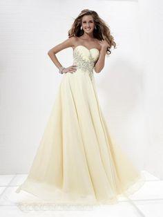 Mellifluous Beads Working Sweetheart Neckline Prom Dress Cute Prom Dresses, Grad Dresses, Homecoming Dresses, Pretty Dresses, Beautiful Dresses, Bridesmaid Dresses, Formal Dresses, Wedding Dresses, Dress Prom